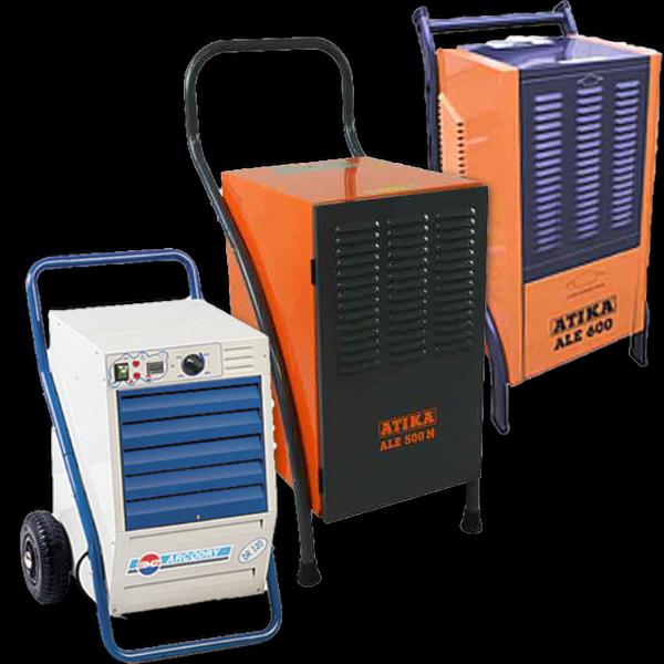 Kondenzační odvlhčovače vzduchu
