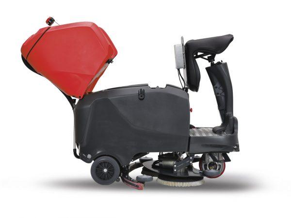Úklidový stroj Arcomat WET850-WET1100 kapota